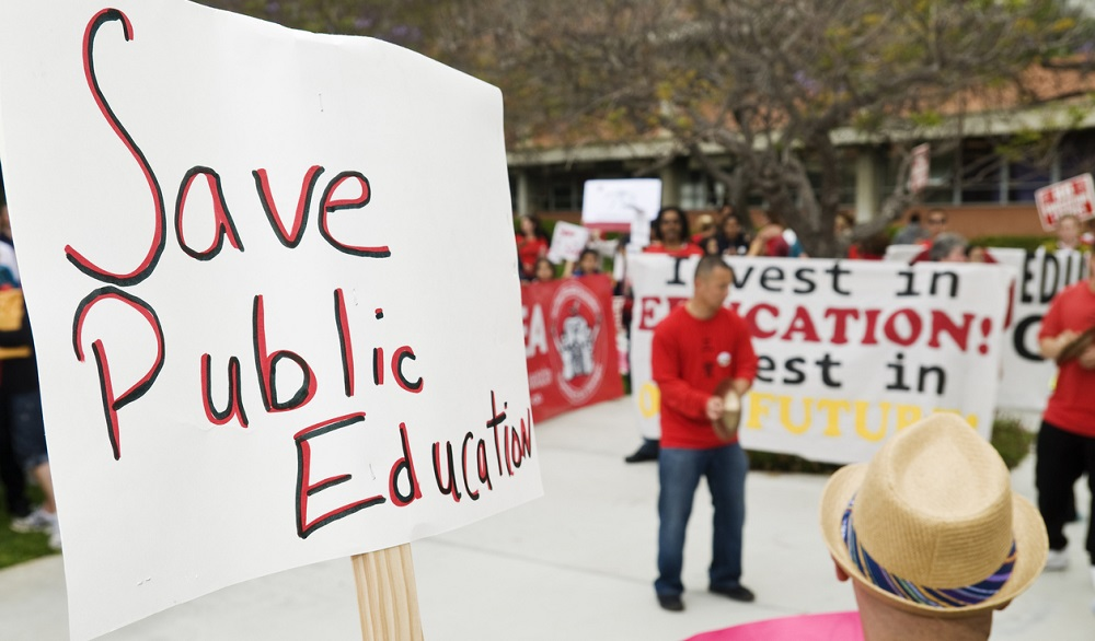 Arizona protests - Education savings accounts