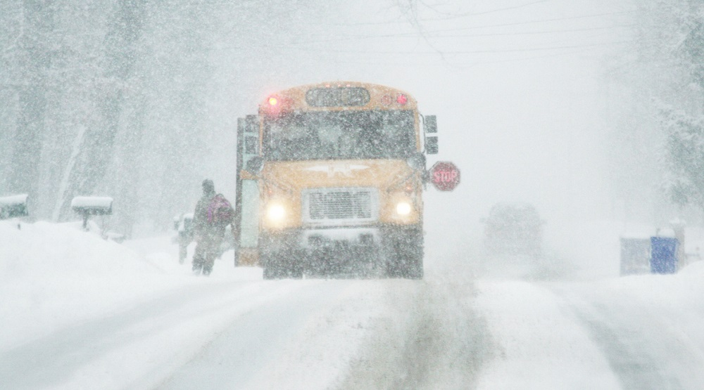 winter storm school closings