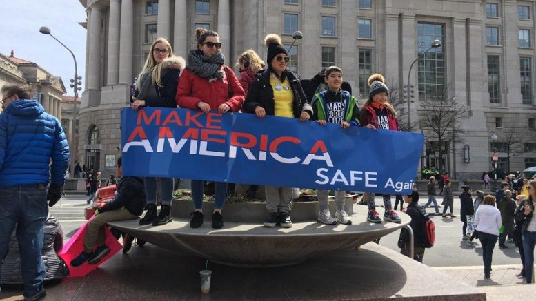 At March for Our Lives, students seize control of gun debate