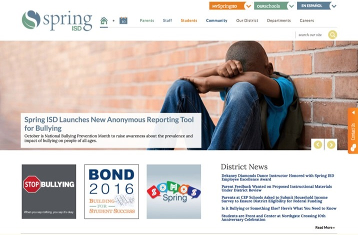 spring isd stop bullying