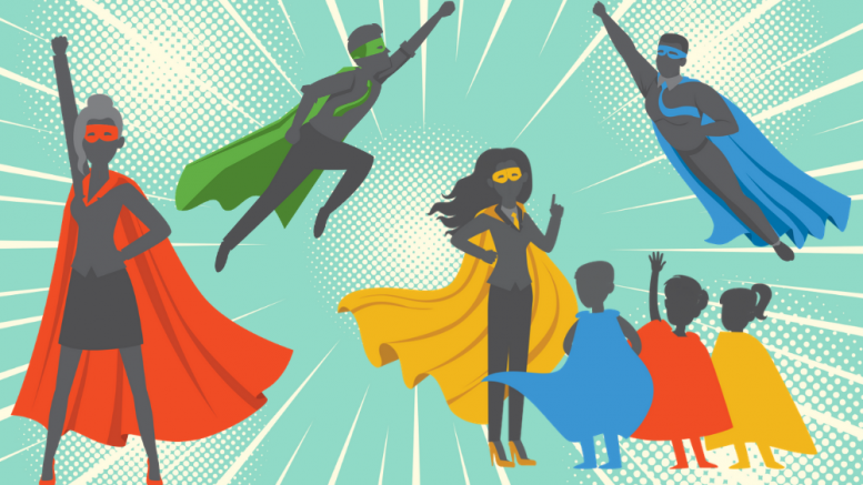 customer experience superheroes