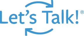 Let-Talk! Logo